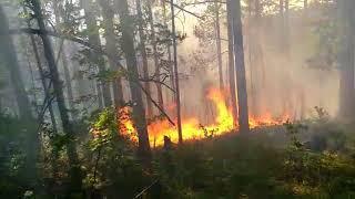 Пожар в Бурзянском районе!