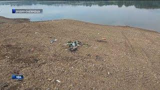 Жители уфимской Нижегородки возмущены свалкой на берегу Агидели