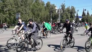 День 1000 велосипедистов. Уфа-2019.