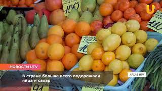 Новости UTV. В Башкирии подорожали продукты