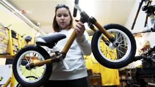 Жительница Уфы создаёт велосипеды из бамбука