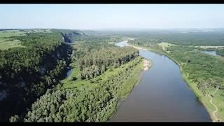 Башкирия  недалеко от уфы Река Сим с воздуха пляж купание