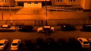 Отморозки разбивают машину Гаи Стерлитамак