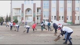 Субботники в Куюргазинском районе