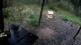 поход.оредеж.лес.дождь.