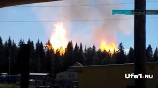 Взрыв на границе с Башкирией