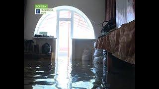 В поселке Зубово вода в некоторых местах поднялась на полтора метра
