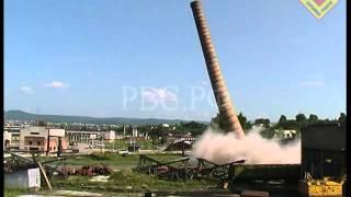 РВС Ч. 38 Труба дымовая 55м БМК Белорецк 2003.07.09