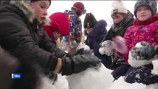 Богослужения на Рождество, конкурс «Лучший снеговик» и предстоящие морозы в Башкирии