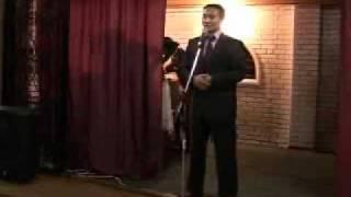 Выступление учителя РБЛИ на выпускном (2009 год)