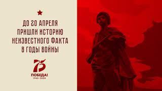 Акция «75 НЕИЗВЕСТНЫХ ФАКТОВ  Республика Башкортостан в годы войны»