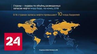 Инфографика. Мир в цифрах. Где сокращаются запасы нефти - Россия 24
