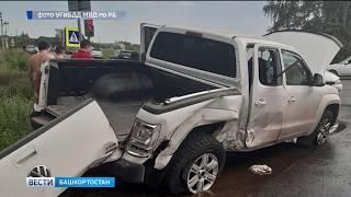 Серьезное ДТП в Уфе: 6 пострадавших, в том числе ребенок