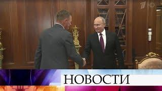 Владимир Путин лично встретился с новыми руководителями Башкирии и Курской области.