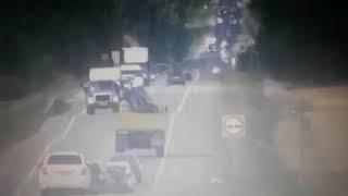 Момент ДТП в Бирском районе 17 08 2018г
