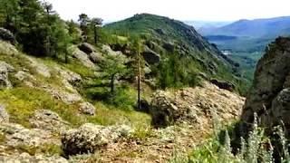 Природа Башкирии. Якты-куль. Оно же - озеро Банное. Клип