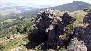 Горнолыжный подъёмник на оз.Банное.  Башкирия. Journey to Bashkortostan.