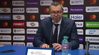 Илья Воробьёв: Такие игры тоже надо выигрывать, когда нужно терпеть и ждать, работать и бороться