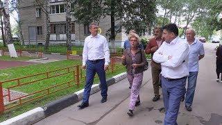 КРТВ  Рабочий визит главы округа в военный городок Павшино