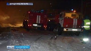 В Янауле при пожаре в жилом доме погибли трое мужчин
