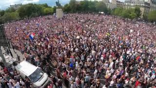 Массовые митинги против ковидных ограничений и паспортов вакцинации.Во Франции и Австралии проходят
