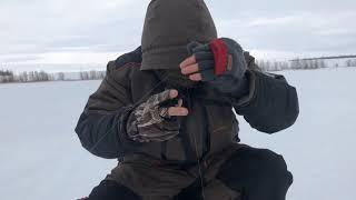 Зимняя рыбалка на окуня.Открытие сезона 2019.Деревня Уртатау