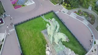 Памятник Салавату Юлаеву в Уфе. Башкирия. (4К)
