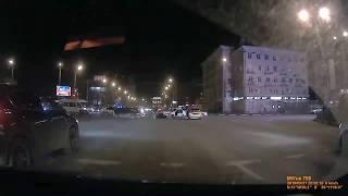Авария с участием мотоциклиста на улице 20 лет октября