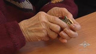 Ветерану ВОВ вернули украденные медали