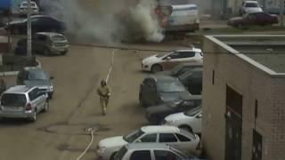 пожар Стерлитамак ,ул.Артёма,120 ,30.04.2017 ,16час. 20мин.