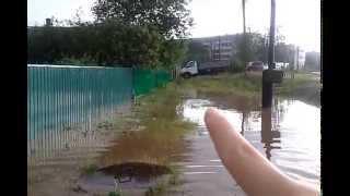 Потоп в г. Октябрьский