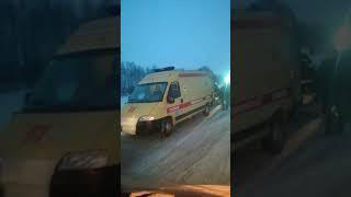 Авария 12 января возле села Николаевка два человека погибли Башкирия.