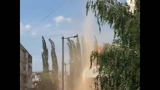Смерч-торнадо в Нефтекамске