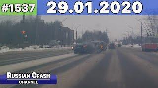ДТП. Подборка на видеорегистратор за 29.01.2020 Январь 2020