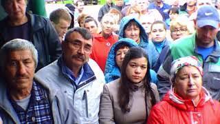 Старые Турбаслы, Уфа,РБ. Собрание жителей, формирование инициативной группы.