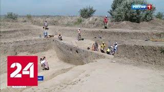 Полевые уроки истории: на Кубани школьники принимают участие в раскопках - Россия 24