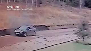 Взрыв в Ишимбае попал на видео