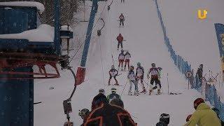 Новости UTV. На Куш-Тау состоялись традиционные соревнования по горнолыжному спорту