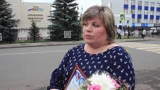 В Уфе наградили женщину, которая помогла выйти на след подозреваемогов преступлении