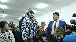 """Встреча жителей посёлка """"Аркаим"""" и мэра города Сибай"""