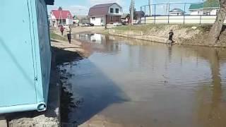 Уфа нижегородка паводок 2017 уровень 715см