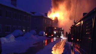 Подробности крупного пожара в Нижегородке