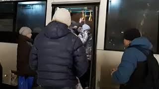 Автобус отказался довезти пассажиров   Ufa1.RU
