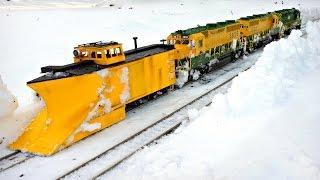 Мегатехника для борьбы со снегом