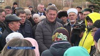 Радий Хабиров узнал, какие проблемы волнуют жителей башкирского Зауралья