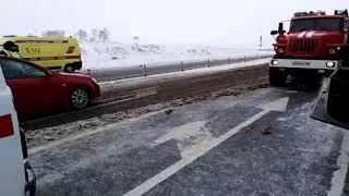 Страшная авария на трассе Уфа-Стерлитамак