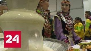 Башкирия продемонстрировала свои бренды на Фестивале молодежи - Россия 24