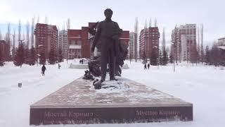 уфа башкирия россия город прогулка  улица мустая карима исторический центр города 4 марта 2021 г