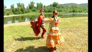 "Башкирский танец ""Петух, коршун и курица""."