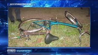 В Мишкинском районе автомобиль сбил велосипедиста